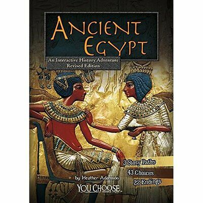 Ancient Egypt: An Interactive History Adventure (You Ch - Paperback NEW Heather