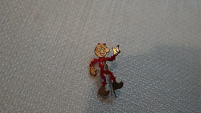Vintage 1950s Reddy Kilowatt advertising pin electricity FREE SHIPPING
