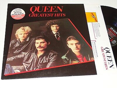 Queen Nm Lp Greatest Hits Ois Top Rock |288