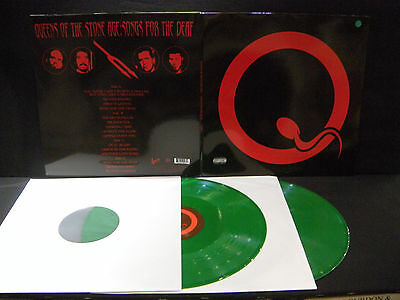 Queens Of The Stone Age ‎– Songs For The Deaf  ' 2 X LP MINT green limited