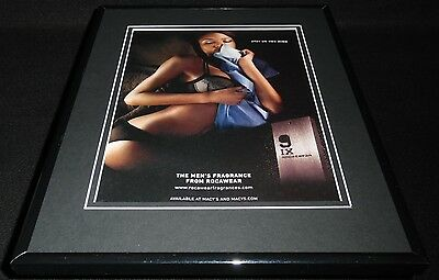 2010 Rocawear Fragrance Lingerie Model Framed 11x14 ORIGINAL Advertisement