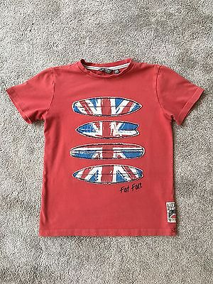 Boys Fat Face T-Shirt 8-9Y
