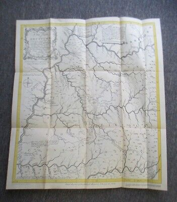 MAP FROM FILSON'S KENTUCKE by Jillson, 1929 Facsimile of 1784 Kentucky Map