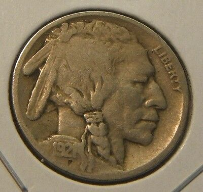 1921~~ Buffalo - Indianhead Nickel~~Better Date~~Vg-F