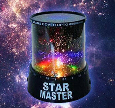 Amazing Sky Star Master Night Light Cosmos Led Projector Mood Lamp Kids New Wars