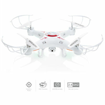 BCP 6-Axis RC X5C-1 Gyro Quadcopter Drone w/ HD Camera, 360-Degree Flipping