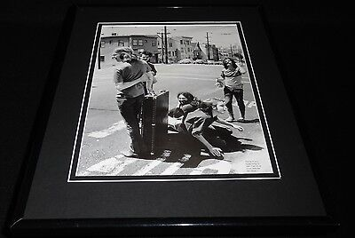 Greateful Dead Group Framed 11x14 Photo Display