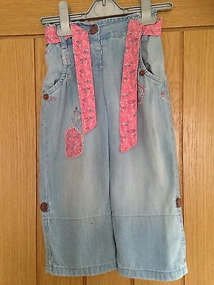 Girls Next jeans/cropped trousers age 1 1/2 - 2 years