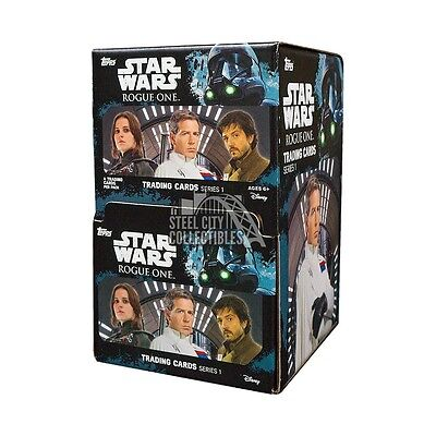 2016 Topps Star Wars Rogue One 60ct Gravity Feed Box