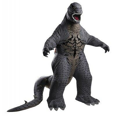 Deluxe Godzilla Inflatable Costume Godzilla Halloween Fancy Dress
