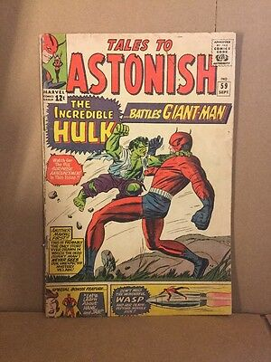 Tales to Astonish #59 Very Good Condition