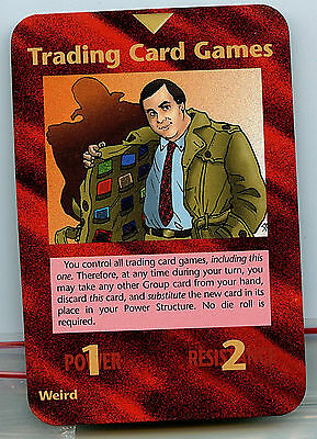 Illuminati New World Order Trading Card Games Steve Jackson Promo card New Z6