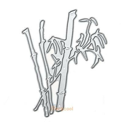 Bamboo Metal Cutting Dies Stencils Scrapbooking Embossing Album Card Craft Decor