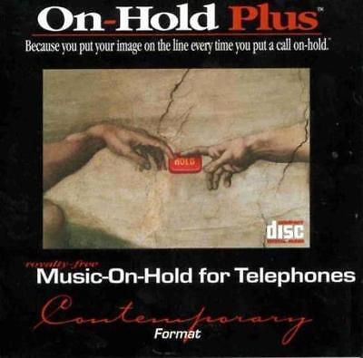 On Hold Plus Contemporary Vol 1 MUSIC AUDIO CD telephone business place on hold