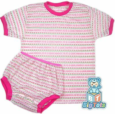 """*BIG TOTS* by MsL I LOVE MOMMY knit set 38""""   adult baby"""