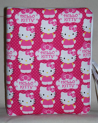 "Hello Kitty Childrens Bright Pink Handcrafted Handmade Photo Album Holds 80 4""X6"