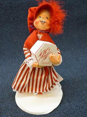 """1998 Annalee Doll Christmas Little Miss Taylor 10"""" EUC Lord & Taylor (B329)"""