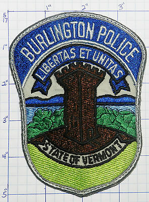 Vermont, Burlington Police Dept Version 3 Patch