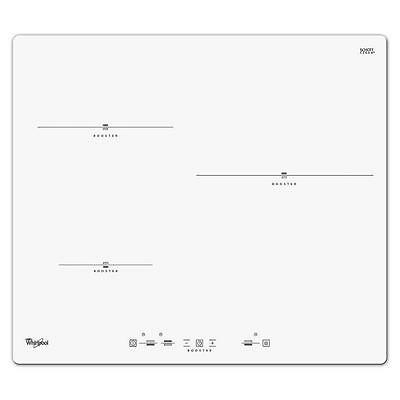 WHIRLPOOL ACM680NEWH - Table de cuisson induction 3 zones blanche
