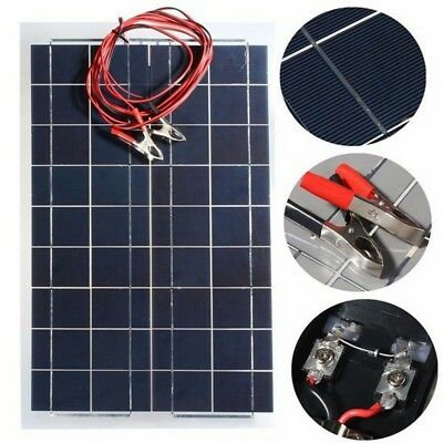 30W 12V Semi Flexible Solar Panel Battery Charger For Home Camping RV Boat