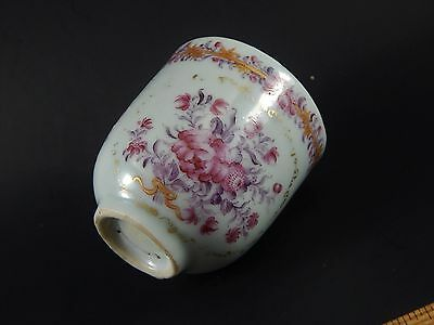 Qianlong Famille Rose Chinese Export Porcelain Coffee Cup For European Market