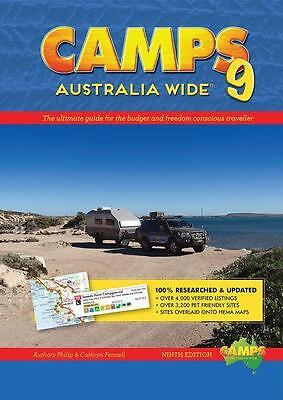 NEW Camps Australia Wide 9 By Philip Fennell Paperback Free Shipping