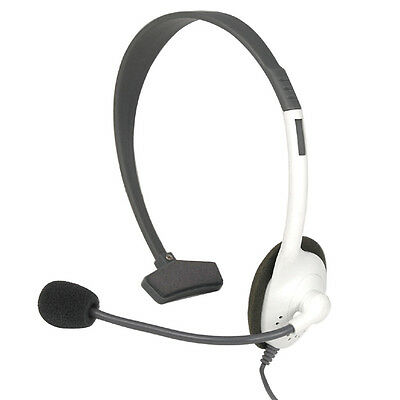 Headset Headphone Microphone for Microsoft Xbox 360 Live Gaming Chat Online Mic
