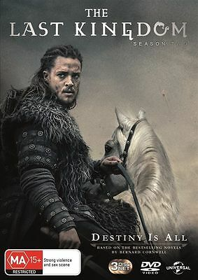 The Last Kingdom: Season 2 (DVD, 2017, 3-Disc Set), NEW SEALED REGION 4