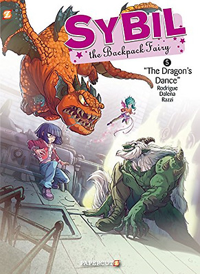 Sybil the Backpack Fairy #5: The Dragon's Dance (Sybil  - Hardcover NEW Michel R