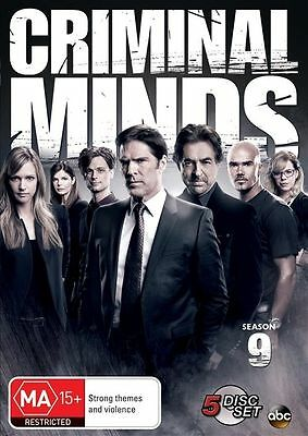 Criminal Minds: Season 9 (DVD, 2014, 5-Disc Set), NEW SEALED REGION 4