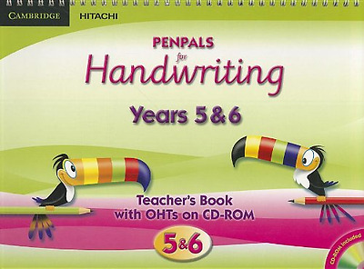 Penpals for Handwriting Years 5 and 6 Teacher's Book wi - Paperback NEW Budgell,