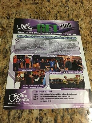 Guitar Center: Get This, official In-house Newsletter,Spring 1998