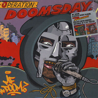 "Mf Doom "" Operation Doomsday "" New *** Normal Black Vinyl *** + 18 X 24 Poster"