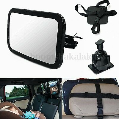 Car Baby Seat Inside Mirror View Back Safety Rear Ward Facing Child Mirror Large