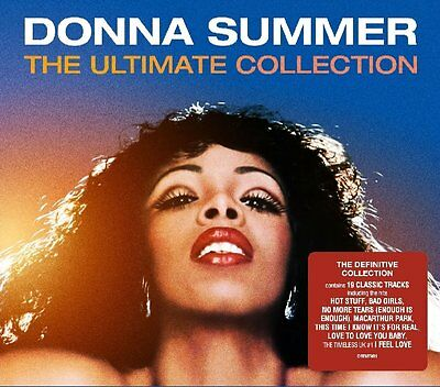 Donna Summer The Ultimate Collection (Very Best Of) Cd Album (2016)