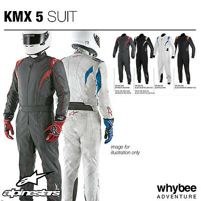 Sale! 3353015 Alpinestars 2018 KMX-5 KARTING KART SUIT 3-Layer CIK-FIA Level 2