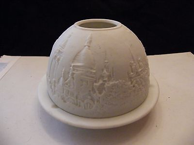 Photophore Lithophanie Bernardaud Limoges Paris Monuments Tour Eiffel G Brunet