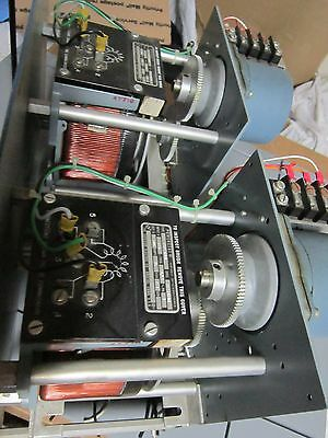 2 rack mounted motorized powerstats variac excellent used