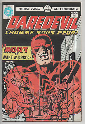 DAREDEVIL #43/44 french comic français EDITIONS HERITAGE