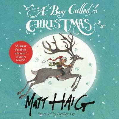 NEW A Boy Called Christmas By Stephen Fry Audio CD Free Shipping