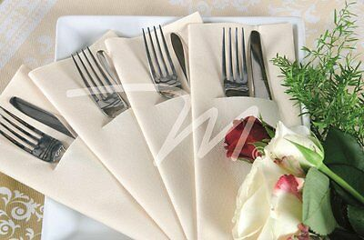 Airlaid Napkins 40cm White - Pack of 100