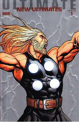 Ultimate New Ultimates #1 1/25 Foil Cho Variant Cover Thor Marvel Comics