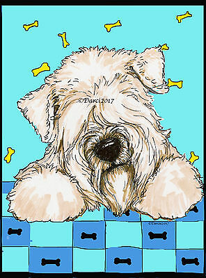 Wheaten Terrier note cards  add a short message inside Free