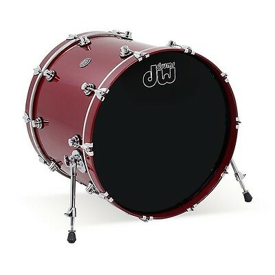 DW Performance Series Bass Drum Candy Apple Lacquer 18x22 LN