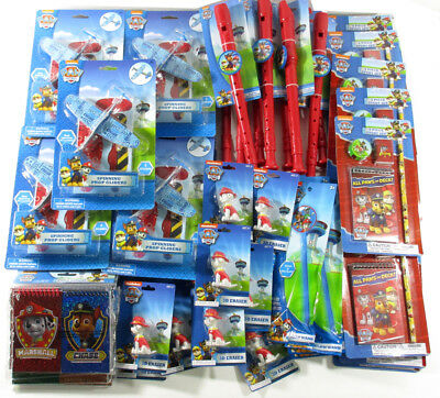 Paw Patrol Birthday Party Favors Gift Bag School Daycare Prizes - 54 Items Total