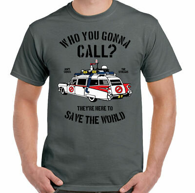 Who You Gonna Call? Mens Ghostbusters Inspired T-Shirt