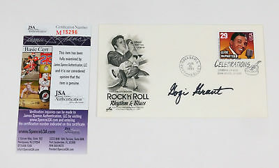 Gogi Grant Signed First Day Cover Envelope Rock 'n' Roll JSA Auto
