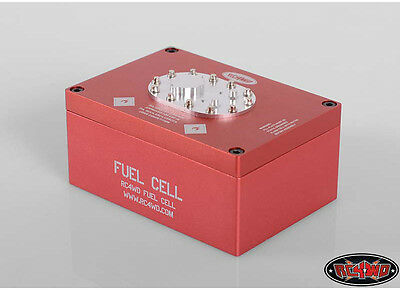 RC 4WD Z-S1122 Billet Alum Fuel Cell Radio Box Red RWDZ-S1122
