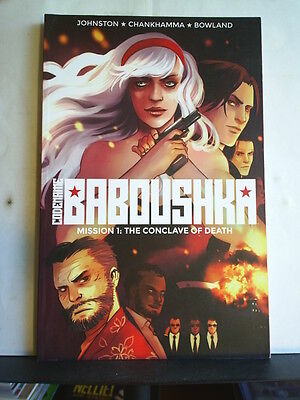 GRAPHIC NOVEL: CODENAME BABOUSHKA - MISSION 1: THE CONCAVE OF DEATH Paperback