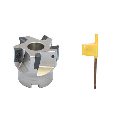 2'' x 3/4'' 90 Degree Indexable Face Mill Cutter Use APMT APKT CNC machining